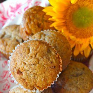 Honey Spiced Banana Muffins Recipe