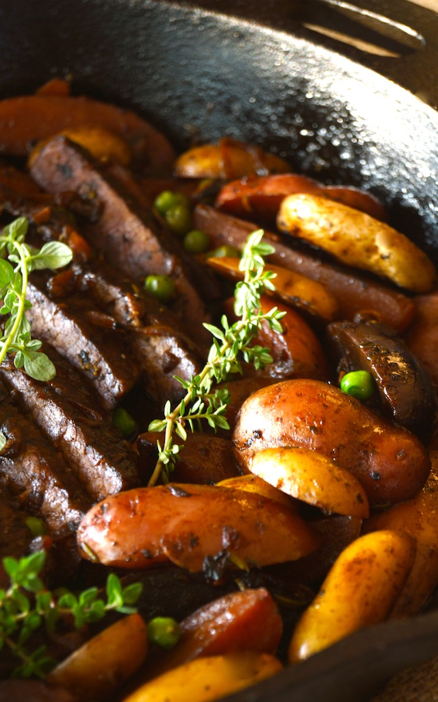 Braised Brisket Stew with Fingerling Potatoes