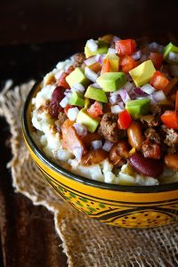 Idaho Potato Turkey Chili Bowl