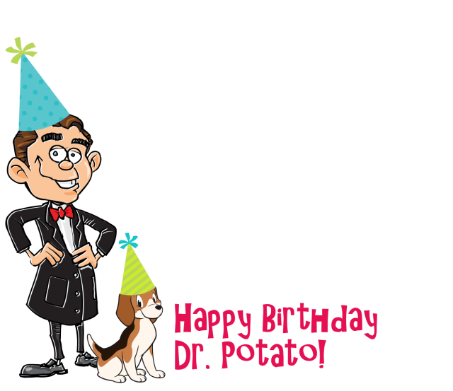 cartoon of Dr. Potato