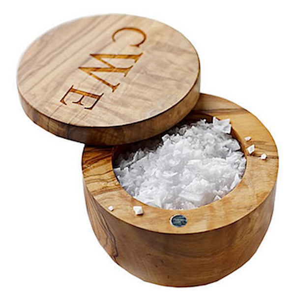 12 Gifts For the Cook Who (You Think) Has Everything – 2016 Guide -- Personalized Salt Dish