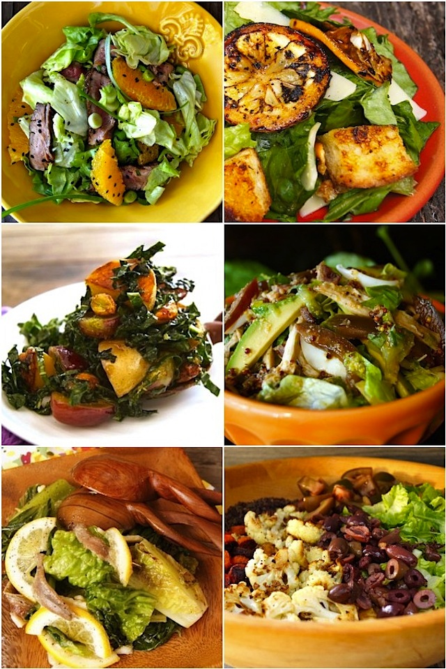 A Week of Main Course Salads