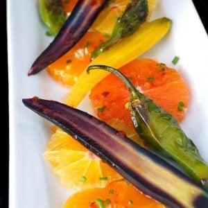 Colorful Citrus Baby Carrot Salad Recipe