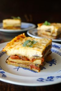 Vegetarian Potato Moussaka Recipe