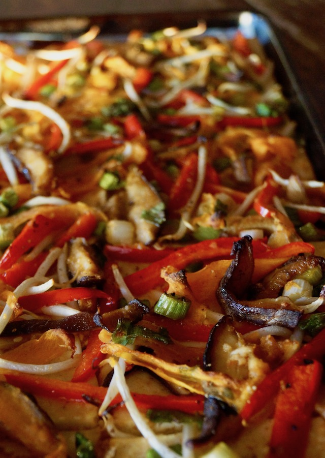 Ginger-Garlic Vegetable Baked Tofu Recipe | Cooking On The ...