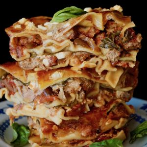 Greek-Style Lamb Lasagna Recipe