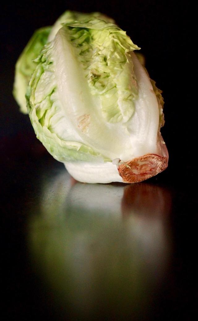 one head little gem lettuce