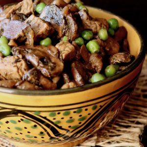 Quick and Easy Caramelized Mushroom Pork Stew Recipe