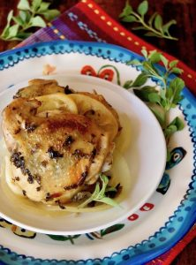 Oregano-Lemon Butter Braised Chicken Recipe