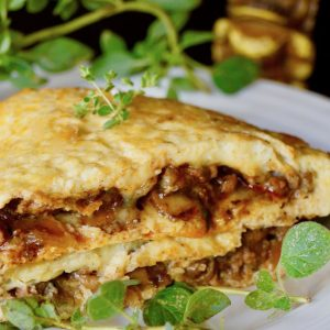 Portuguese Sausage Omelet Recipe and the Hawaiian Style Cafe