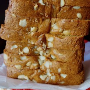 Gluten-Free Macadamia Honey Bread