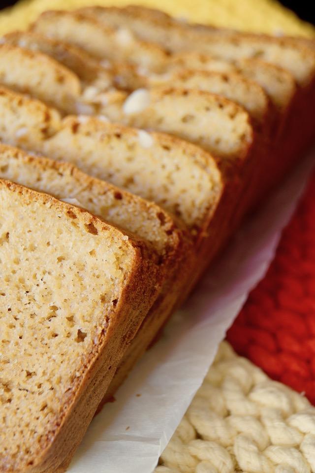 Gluten-Free Macadamia Nut-Honey Bread
