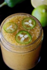 Creamy Roasted Jalapeno Lime Vinaigrette Recipe
