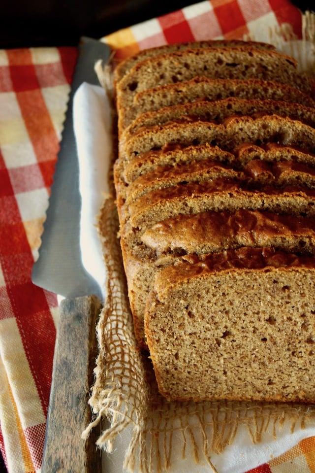 Gluten-Free Almond Butter Bread Recipe
