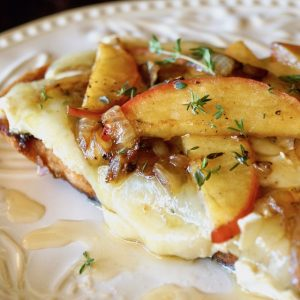 Caramelized Apple Brie Melt Recipe
