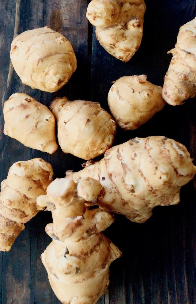 Raw Sunchokes for Herb Roasted Sunchokes