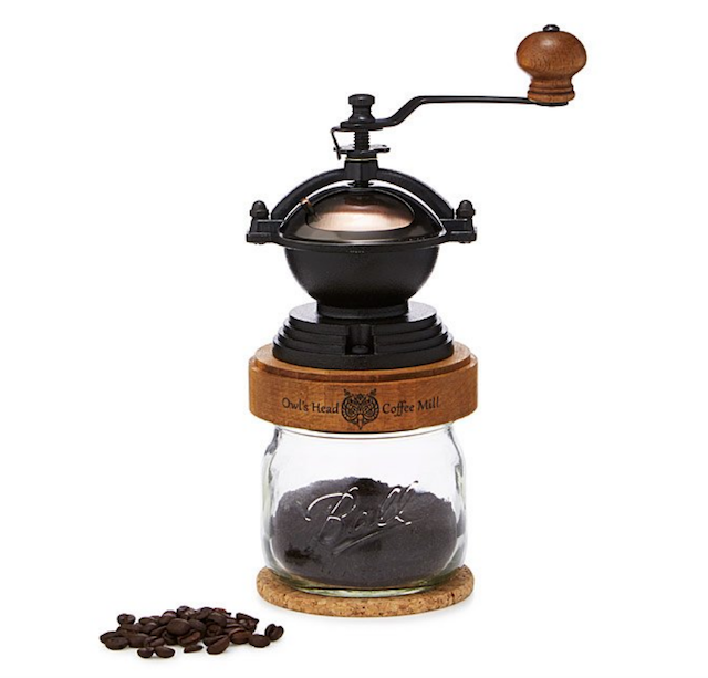 steampunk coffee grinder from uncommongoods