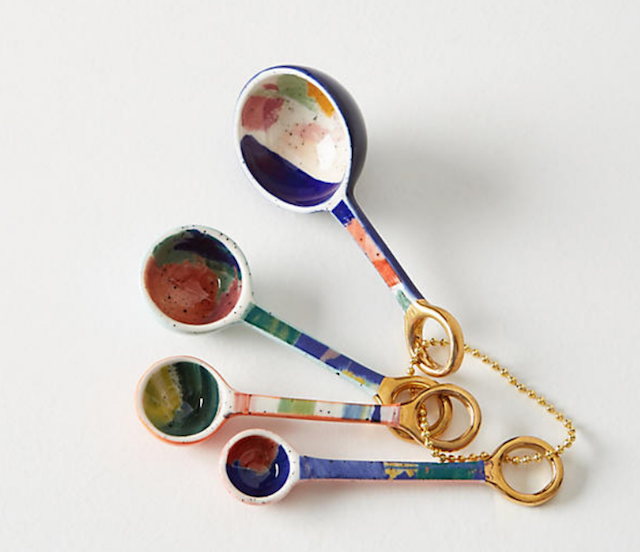 Painter's Palette Measuring Spoons