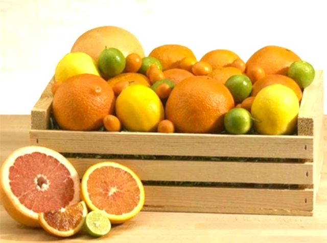 citrus crate from melissas produce