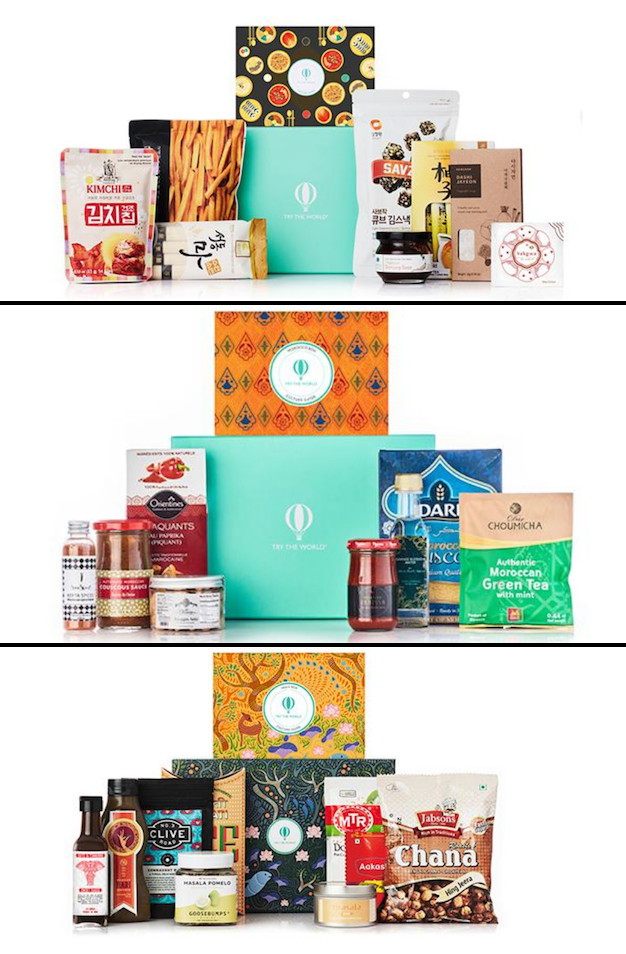 Countries montly gift box from Try The World