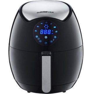 One black GoWISE USA Air Fryer