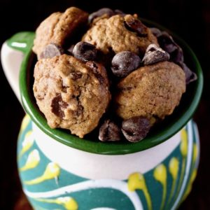 Mexican Chocolate Spice Cookies