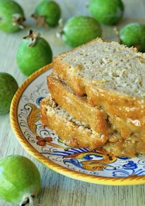 Glazed Pineapple Guava Bread
