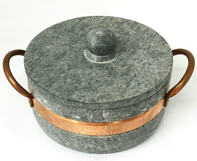 Brazilian Soapstone Stew Pot