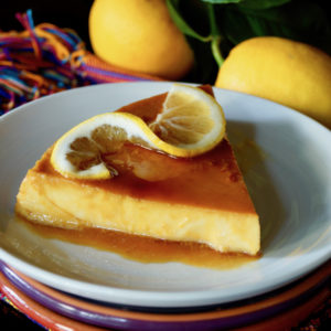 Meyer Lemon Flan Recipe