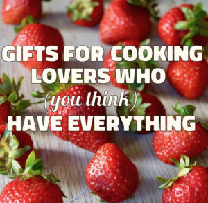 Strawberries with text over them for gift post