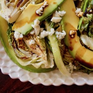 Grilled Little Gem Lettuce Salad
