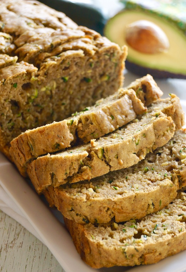 Avocado Zucchini Bread Recipe Cooking On The Weekends