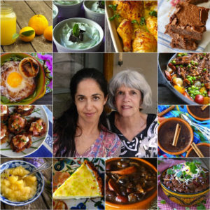 collage of 12 recipes for Mother's Day