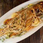 Whole Baked Rockfish