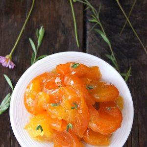 Kumquat Marmalade with Ginger