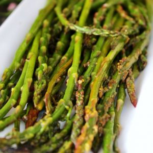 Lemon Grilled Asparagus in Foil