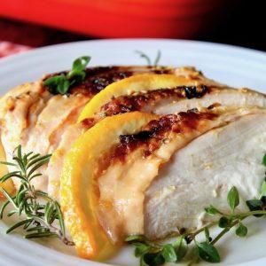 Herbs de Provence Orange Roasted Chicken